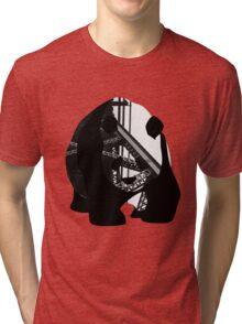 Panda Bear - Girder Tri-blend T-Shirt