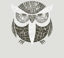 Wise Old Owl Says Unisex T-Shirt