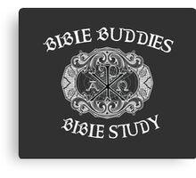 Bible Buddies: Bible Study Canvas Print