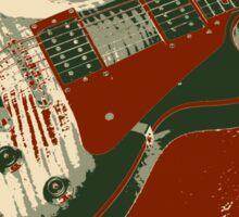 Les Paul Artwork - Red Sticker