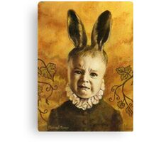 Baby Mutant Bunny Canvas Print