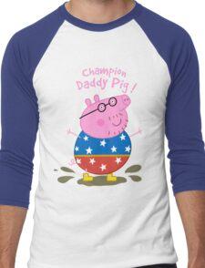 Daddy Champion Men's Baseball ¾ T-Shirt