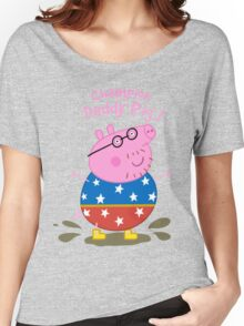 Daddy Champion Women's Relaxed Fit T-Shirt