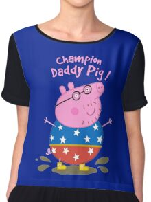 Daddy Champion Chiffon Top