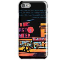 Pike Place Market: Color iPhone Case/Skin