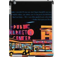 Pike Place Market: Color iPad Case/Skin