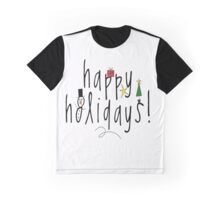 Happy Holidays Graphic T-Shirt