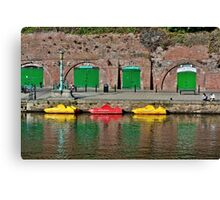 Exeter Colors Canvas Print