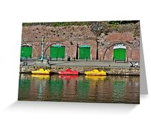 Exeter Colors Greeting Card