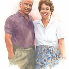 50th anniversary watercolor by Mike Theuer