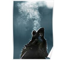 Knight Artorias - The Wolf And The Abyss Poster