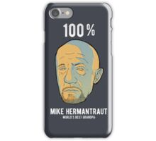 MIKE HERMANTRAUT iPhone Case/Skin