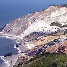 Aquinnah Clay Cliffs by phil decocco