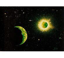 Green Moon Photographic Print