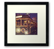 Dreams seen by Man Made Machine: colour Framed Print