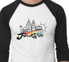 EB-Fourside Pride Men's Baseball ¾ T-Shirt