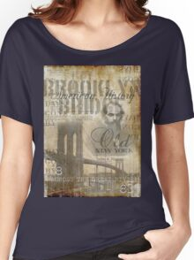 old new york Women's Relaxed Fit T-Shirt