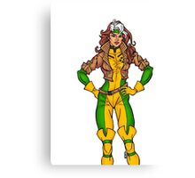 X-MEN Rogue 1990's costume. Canvas Print
