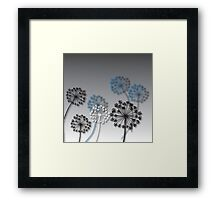 Mysterious Flowers Framed Print