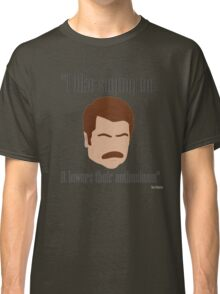 I Like Saying No Classic T-Shirt