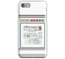 Serenity Firefly floorplan schematics iPhone Case/Skin