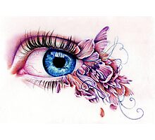 The Soul Would Have No Rainbow If The Eye Had No Tears Photographic Print
