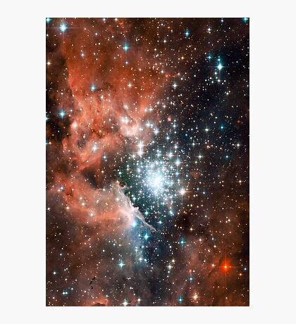 Red Galaxy 2.0 Photographic Print
