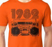 1982 Boombox Unisex T-Shirt