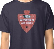 Western Airlines arrowhead Classic T-Shirt