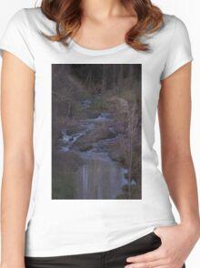 Hidden creek Women's Fitted Scoop T-Shirt