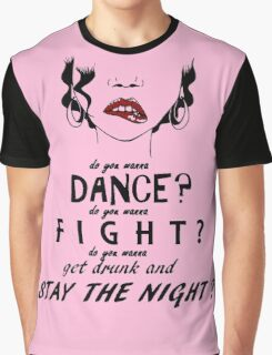 Amanda Palmer Lyric Design  Graphic T-Shirt