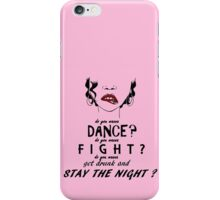 Amanda Palmer Lyric Design  iPhone Case/Skin