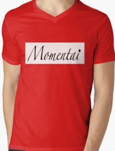 Momentai Mens V-Neck T-Shirt