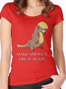 Gumshoos Donald Trump Women's Fitted Scoop T-Shirt