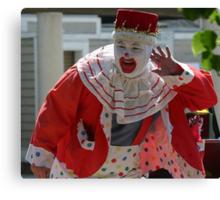 Clowning Around Canvas Print