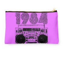 1984 Boombox Studio Pouch Bag (purple)