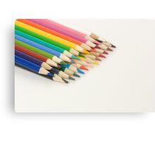 Coloured Pencils Canvas Print