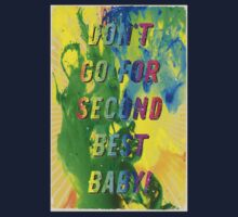 Don t go for Second Best – A Hell Songbook Edition - Olympic Games Rio de Janeiro - Brazil Kids Tee