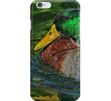 Water Off A Ducks Back iPhone Case/Skin