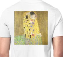 The Kiss, Lovers, oil and gold leaf on canvas, Gustav Klimt Unisex T-Shirt