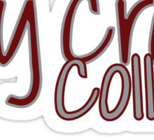 Holy Cross College Sticker