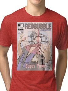 New York Comic Con Poster Contest Tri-blend T-Shirt