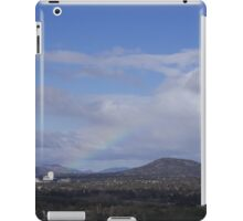 Valley view with the rainbow iPad Case/Skin