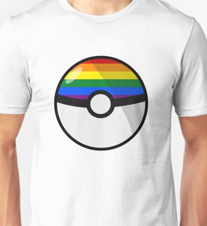 LGBT Pokeball Unisex T-Shirt