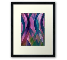Abstract background Framed Print
