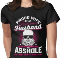 Proud Wife of An Awesome Husband Womens Fitted T-Shirt