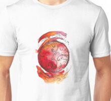 little world - red planet swirls Unisex T-Shirt
