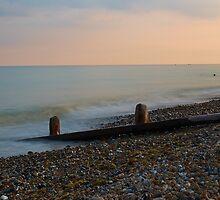 sunset at the coast by Sara Sadler