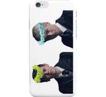Albus and Scorpius flower crown edit iPhone Case/Skin