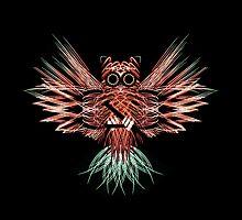 Firework Owl 01 by IreKire